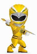 Yellow Wild Force Ranger in Power Rangers Dash