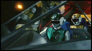 Flashman Green-Yellow cockpit