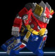 High Octane Megazord in Power Rangers Dash