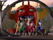 Galaxy Megazord 1 Original Zord Footage