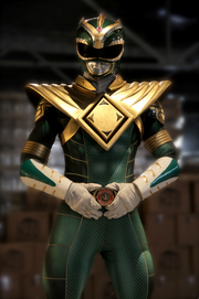 Green Ranger super power beat down