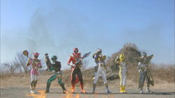 Gokai Change-super