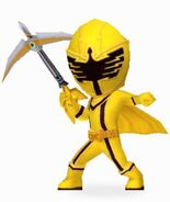 Yellow Mystic Ranger in Power Rangers Dash