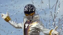 The Gokaiger's newest member