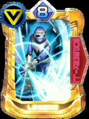 GingaBlue Card in Super Sentai Legend Wars