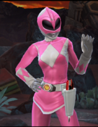 Legacy Wars Mighty Morphin Pink Ranger Victory Pose