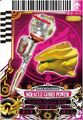 GoseiPink Miracle Power card