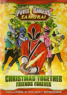 Christmas power rangers
