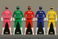 Carranger Ranger Keys