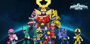 Super Samurai in Power Rangers Dash
