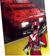 Pyro Rescue 1 Megazord Madness