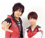 Takeru with Alata