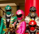 Comparison:Gokaigers vs. Super Mega Rangers