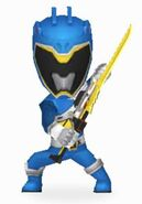 Blue Dino Charge Ranger In Power Rangers Dash