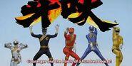 Gokai Change 25 - Gaoranger
