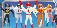 Battle Fever J (Toyline)
