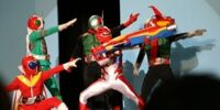 Go-Onger Stage Show at Super Hero Nagoya Dome
