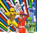Power Rangers DNA