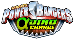 Power Rangers Alpha Dino Charge logo
