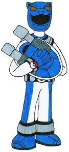 Pokemon Tamer Blue Ranger