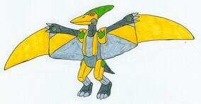 Yellow Pteranozord by MCsaurus