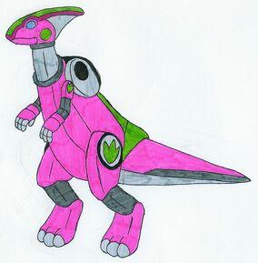 Pink Parasaurzord by MCsaurus