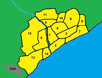 San Serena Map