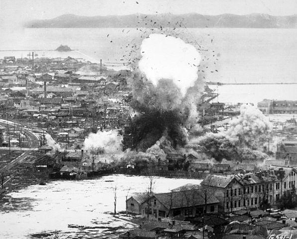 File:596px-Korean War bombing Wonsan.jpg