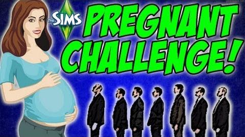The Sims 3 - Gold Digger After My Son!? 7 Pregnant Challenge
