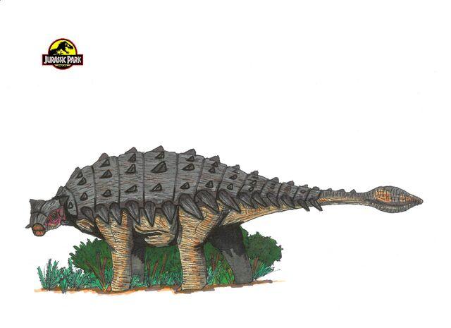 File:Jurassic Park Ankylosaurus by hellraptor.jpg