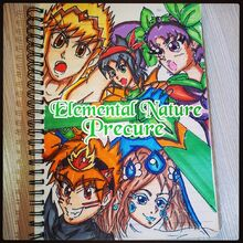 Elemental Nature Precure Cover