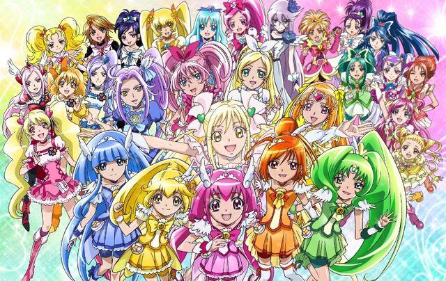 File:Pretty cure all stars new stage mirai no tomodachi 129378.jpg