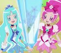 Blossom and Marine win the battle together