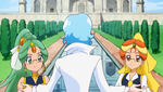 Blue Vists The Wonderful Net Pretty Cure