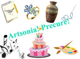 Artsonia! Precure! logo