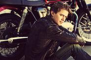 Drew Van Acker motorcycle