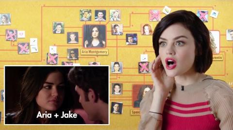 'Pretty Little Liars' Break Down Every On-Screen Hookup and Murder Vanity Fair