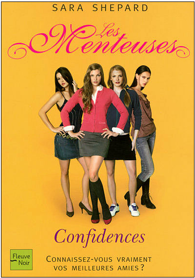 Pretty Little Liars Book Cover Models : Image french pretty little liars