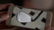 Aria's phone n