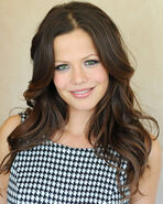 Tammin-sursok-checkered-dress