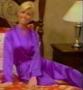 Teri Harrison in Satin Sleepwear-36