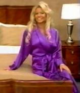 Gabrielle in Satin Sleepwear-5