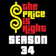 Price is Right Season 34 Logo