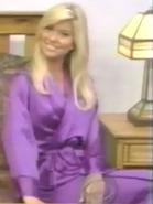 Teri Harrison in Satin Sleepwear-17