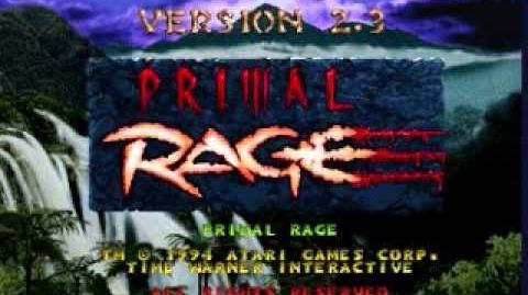 Primal Rage The Hollows Arcade Version