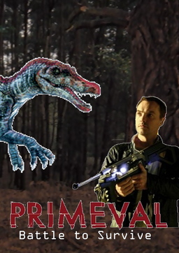 Primeval Book Cover Battle to Survive
