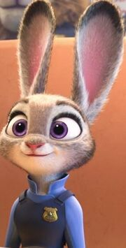 Judy seated