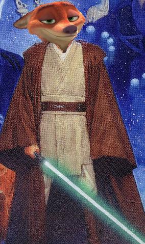 File:Nick Wilde the Jedi.PNG