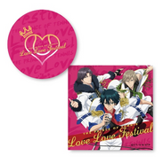 Love festival front and back