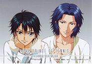 Echizen Ryoma and Yukimura Seiichi